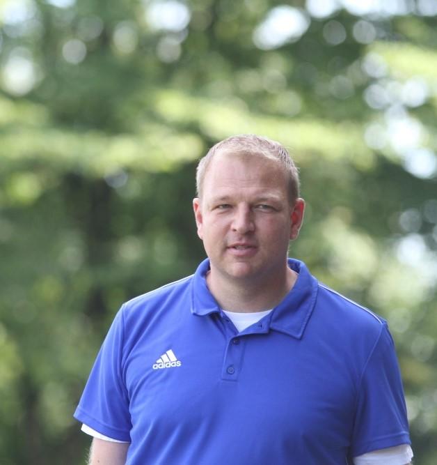 Blick nach vorn: Marco Priebe bleibt auch in der Saison 2019/2020 Trainer der Spvg. Hiddenhausen.